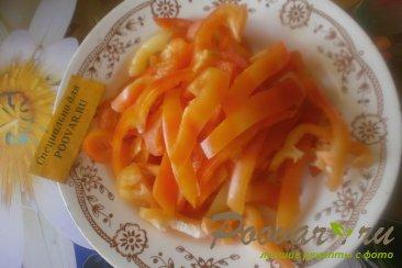 Салат из зелёных помидоров с овощами на зиму Шаг 3 (картинка)