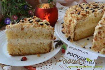 Быстрый торт сметанник Изображение