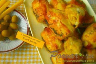 Рулетики с сыром и оливками Шаг 11 (картинка)