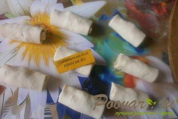 Рулетики с сыром и оливками Шаг 7 (картинка)