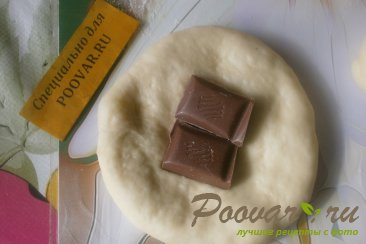Пирожки с шоколадом и сахарной глазурью Шаг 10 (картинка)