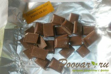 Пирожки с шоколадом и сахарной глазурью Шаг 8 (картинка)