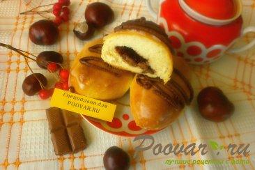 Пирожки с шоколадом и сахарной глазурью Шаг 19 (картинка)
