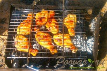 Куриные ножки в горчично-медовом маринаде на решётке Шаг 6 (картинка)
