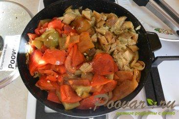 Запеченные овощи с курицей Шаг 10 (картинка)