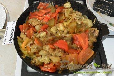 Запеченные овощи с курицей Шаг 11 (картинка)