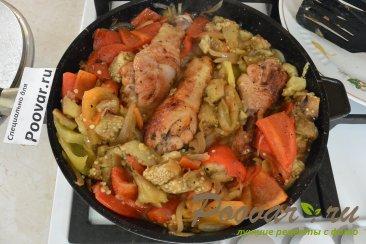 Запеченные овощи с курицей Шаг 12 (картинка)