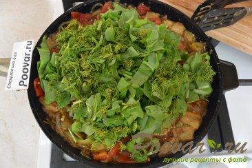 Запеченные овощи с курицей Шаг 14 (картинка)