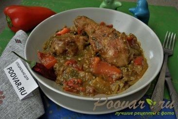 Запеченные овощи с курицей Шаг 15 (картинка)