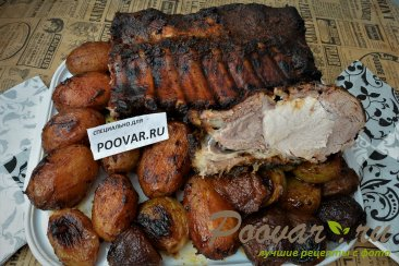 Костица в духовке с картофелем Шаг 14 (картинка)