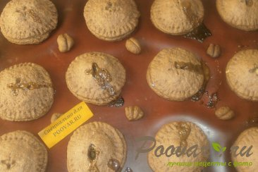 Шоколадное печенье с яблоками и карамелью Шаг 12 (картинка)