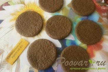 Шоколадное печенье с яблоками и карамелью Шаг 8 (картинка)