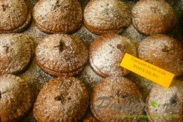 Шоколадное печенье с яблоками и карамелью Шаг 13 (картинка)