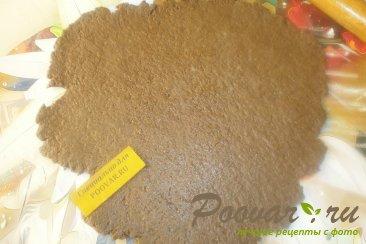 Шоколадное печенье с яблоками и карамелью Шаг 7 (картинка)
