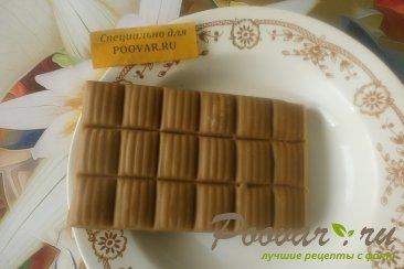 Шоколадное печенье с яблоками и карамелью Шаг 6 (картинка)