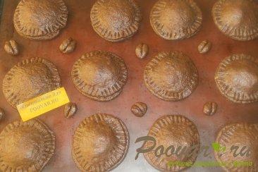 Шоколадное печенье с яблоками и карамелью Шаг 11 (картинка)