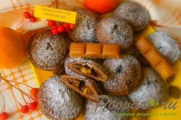 Шоколадное печенье с яблоками и карамелью Шаг 14 (картинка)