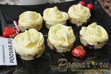 Пирожное с безе, кремом и ягодами Шаг 20 (картинка)