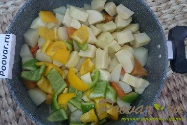 Овощное рагу с картофелем и бататом Шаг 7 (картинка)