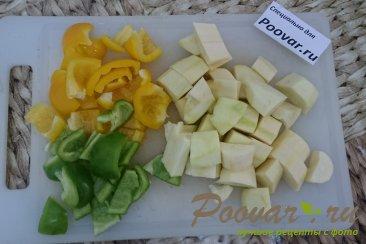 Овощное рагу с картофелем и бататом Шаг 6 (картинка)
