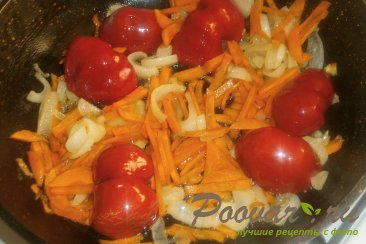 Толстолобик с овощами в томате Шаг 12 (картинка)