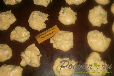 Заварные булочки с сыром и зеленью Шаг 9 (картинка)