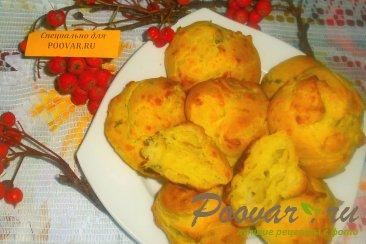 Заварные булочки с сыром и зеленью Шаг 11 (картинка)