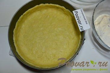 Пирог с творогом, ягодами и кокосовой стружкой Шаг 7 (картинка)