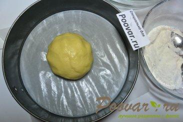 Пирог с творогом, ягодами и кокосовой стружкой Шаг 6 (картинка)