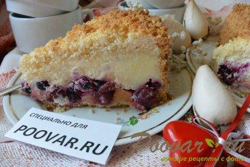 Пирог с творогом, ягодами и кокосовой стружкой Шаг 20 (картинка)