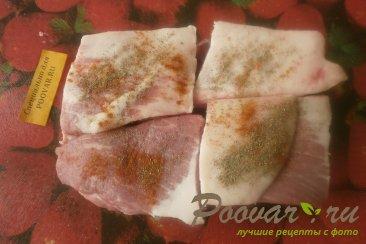 Свиные рёбрышки с чесноком в духовке Шаг 4 (картинка)
