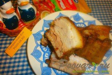 Свиные рёбрышки с чесноком в духовке Шаг 10 (картинка)