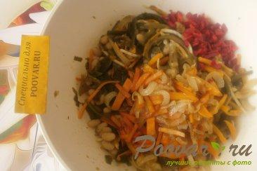 Салат из морской капусты с фасолью Шаг 9 (картинка)