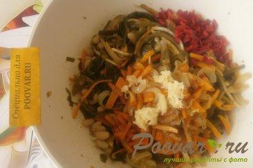 Салат из морской капусты с фасолью Шаг 10 (картинка)