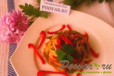 Салат из морской капусты с фасолью Изображение