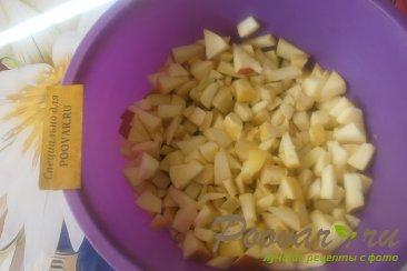 Пирог яблочный из песочного теста Шаг 5 (картинка)