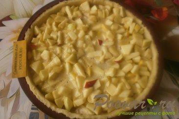 Пирог яблочный из песочного теста Шаг 10 (картинка)