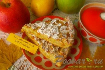 Пирог яблочный из песочного теста Шаг 14 (картинка)