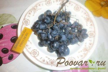 Виноградное желе с орехами Шаг 1 (картинка)
