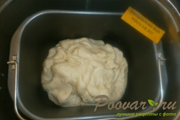 Рулет из дрожжевого теста с шоколадной начинкой Шаг 4 (картинка)