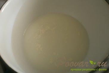 Рулет из дрожжевого теста с шоколадной начинкой Шаг 5 (картинка)