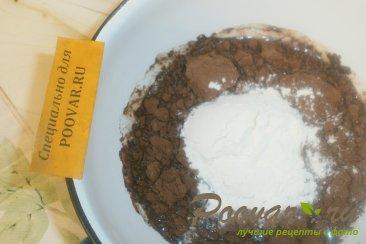 Рулет из дрожжевого теста с шоколадной начинкой Шаг 6 (картинка)