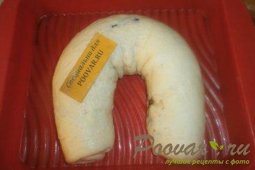 Рулет из дрожжевого теста с шоколадной начинкой Шаг 16 (картинка)
