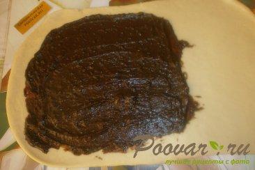 Рулет из дрожжевого теста с шоколадной начинкой Шаг 11 (картинка)