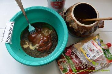 Куриная грудка в фольге в духовке Шаг 4 (картинка)
