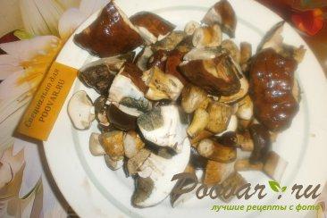 Жареные польские грибы с луком и морковью Шаг 4 (картинка)