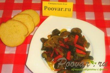 Жареные польские грибы с луком и морковью Шаг 15 (картинка)
