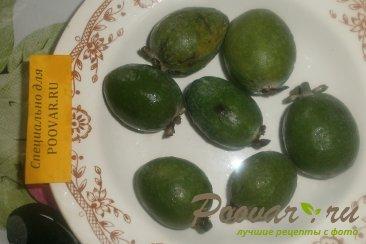 Фейхоа с лимоном Шаг 2 (картинка)
