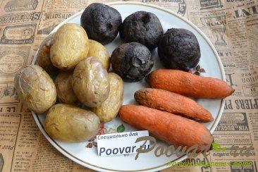 Селёдка под шубой из запечённых овощей Шаг 5 (картинка)