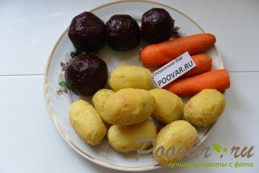 Селёдка под шубой из запечённых овощей Шаг 6 (картинка)